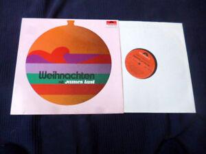 LP WEIHNACHTEN mit James Last | (Christmas Dancing) rare Cover POLYDOR