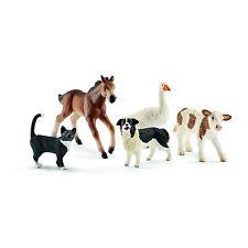 Schleich Granja Mundo 42386 Set 5 Animales En