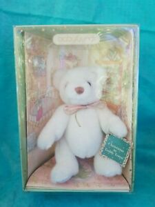 BABY GUND ~ CHRISTMAS COLLECTIBLES ~ 1993 white bear Christmas in Teddy Town