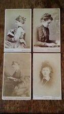 Figures/Portraits Collectable Antique CDVs (Pre-1940)