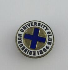 More details for rare silver & enamel founders badge for the edinburgh university club, 1864.