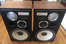 JBL Model L112 Speakers Refoamed/Restored - No Grill - Fantastic Sound!