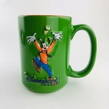 Disneyland Resort 3-D Goofy Green Coffee Mug Disney