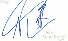 Shawn Marion Phoenix Suns NBA Basketball Autographed Signed Index Card