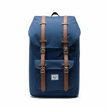 Herschel Little America Mens  Womens & Backpack Rucksack - Navy Brown