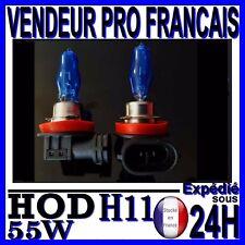 AMPOULE PLASMA HOD H11 55W LAMPE HALOGENE FEU EFET XENON BLANC BLANCHE 6000K 12
