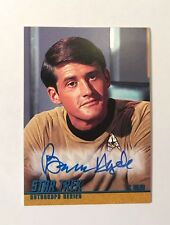 Star Trek TOS 40TH BRUCE HYDE AUTOGRAPH Lt. Riley A123 Rittenhouse Series 1