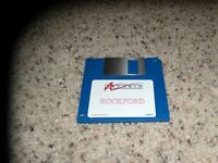 """Rockford Commodore Amiga Game on 3.5"""" disk Near Mint"""