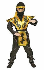 Deluxe Ninja Children'S Costume Set By Dress up America L 12 - 14 YEARS