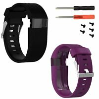 Silicone Replacement Band Strap Tool for Fitbit Charge HR Activity Tracker Large