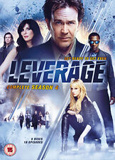LEVERAGE - SEASON 4 - DVD - REGION 2 UK