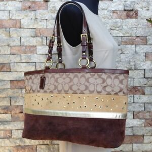 Coach Patchwork Tote Bag