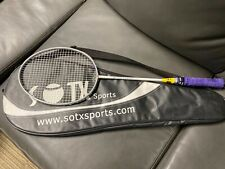 RARE SOTX Badminton Racquet Vintage VERY GOOD ! + CASE !!