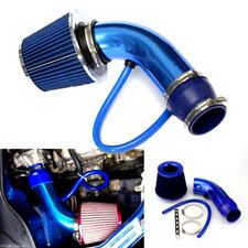 3'' Alumimum Car SUV Blue Cold Induction Air Intake Pipe Kit and Air Filter
