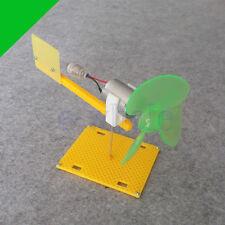 Micro Wind Turbines Generator Small DC Motor Blades W/Holder DIY Project Kit K6