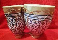 Zwillingstrommel BONGO Keramik/Ton
