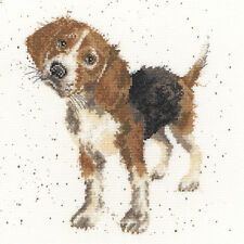 BOTHY THREADS WRENDALE DESIGNS BEAGLE DOG COUNTED CROSS STITCH KIT - NEW XHD12