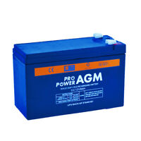 12V 9AH AMP Hour Battery AGM SLA Deep Cycle Dual Fridge Solar Power 12 VOLT PRO