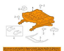 Scion TOYOTA OEM 11-12 tC Seat Track-Seat Adjust Assembly Right 7161021010