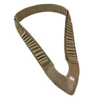 NcSTAR TAN Tactical Shotgun Shell Shotshell Shoulder Ammo Bandolier AA12BANT