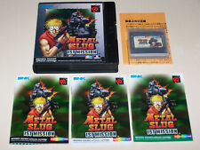 METAL SLUG 1ST MISSION / Neo Geo Pocket Color / UK Edition / Boxed and Complete