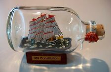 Ship in a Bottle USS CONSTITUTION  Excellent! New from England