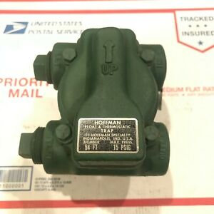 """New HOFFMAN 50 Series Float & Thermostatic Trap 1""""NPT 54FT 15 PSI, Made in USA"""
