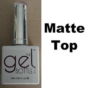 NEW The Gel Bottle Inc TGB Matte Top Coat Builder Gel System UV LED 20ml