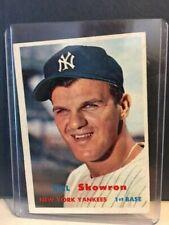 "1957 Topps Bill ""Moose"" Skowron #135 - New York Yankees"