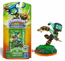 Skylanders Giants STEALTH ELF Figure Card Sticker Code 2012 NEW