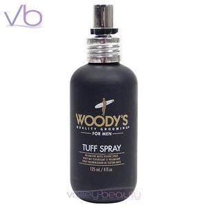 WOODY'S Quality Grooming For Men Tuff Spray 4oz - Volume Texture Beach Spray