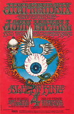 MINT Jimi Hendrix Rick Griffin 1968 BG 105 FLYING EYEBALL Fillmore Card