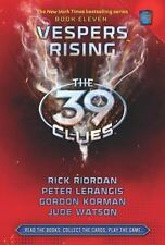 VESPERS RISING 39 CLUES by Rick Riordan FREE SHIP hardcover children's book 11