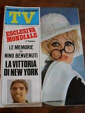 """ TV SORRISI E CANZONI ""I.BIAGINI N°21 MAGGIO 1968"