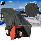 Snow Thrower Cover 420D Two Stage Snow Blower Cover Waterproof UV Protect Tarp