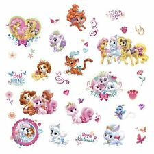 Wall Decals NEW * Whisker Haven - Palace Pets * Disney Princesses Horse Cat Dog