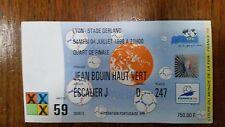Ticket World Cup 1998 Germany v Croatia, quarter-final in Lyon