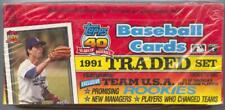 1991 Topps 40th Anniversary Baseball Traded Set Special Edition