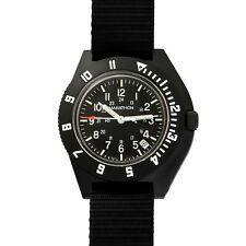Military Aviation Watch  MARATHON Navigator Date 2nd Timezone H3, Sterile, NEW