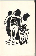 FERNAND LEGER - CIRQUE * RARE LITHOGRAPH from 1950