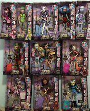 Monster High Scaris City 12 Dolls ...Complete Set.. Deuce/Skelita/Jinafire/...