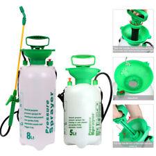 More details for garden pressure sprayer 5l 8l chemical weed killer portable water bottle pump 1l