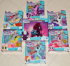 "My Little Pony The Movie 6"" Glitter Style Seapony Skystar Tempest Shadow Lot"