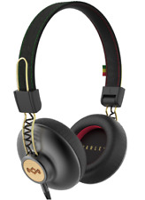 House of Marley Positive Vibration 2 Foldable On-Ear Wired Headphones - Rasta