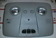 07-14 GMC Acadia Traverse Outlook Dome Light Lamp Overhead Roof Gray Grey OEM
