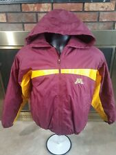 Minnesota Golden Gophers NCAA Hooded Jacket Coat Youth Size XL Goldy Minneapolis