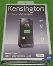 Kensington PowerGuard Battery Case for iPhone 4 Black Fits AT&T iPhone New Other