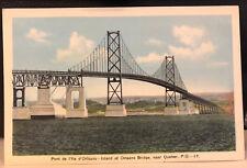 Quebec   Pont de I'lle de Orleans - Island of Orleans Bridge