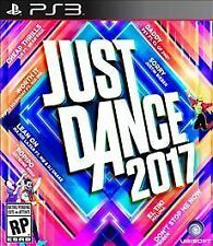 JUST DANCE 2017 PS3 MOVE NEW! MAROON 5, JUSTIN BIEBER, THE WEEKEND, BEYONCE