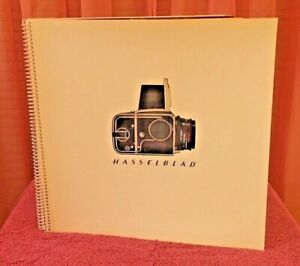 Hasselblad Collectible - Numbered Hasselblad Sales/Demonstration  Manual - 1974